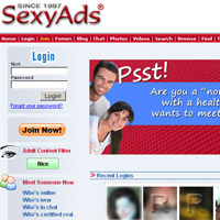 Join Sexy Ads