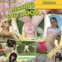Join Pissing Outdoor