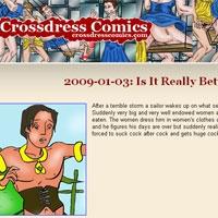 'Visit 'Crossdress Comics''