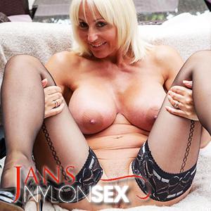 'Visit 'Jans Nylon Sex''
