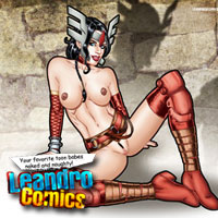 Join Leandro Comics