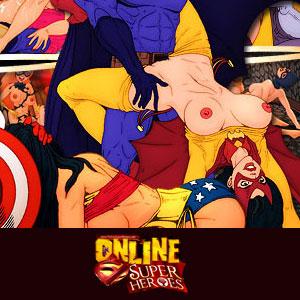 'Visit 'Online Superheroes''