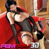 'Visit 'Femdom 3D''
