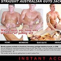 'Visit 'Straight Australian Boys Jacking Off''