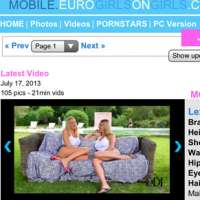 Join Euro Girls On Girls Mobile