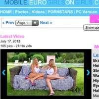 'Visit 'Euro Girls On Girls Mobile''