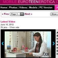 'Visit 'Euro Teen Erotica Mobile''