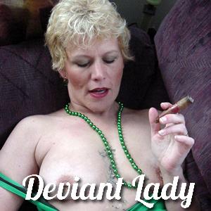 'Visit 'Deviant Lady''
