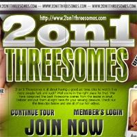 'Visit '2 On 1 Threesomes''