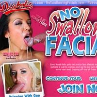 'Visit 'No Swallowing Facials''