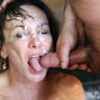 abuse porn facial