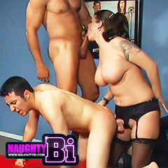 Bisexual Porn featuring bi sex movies with mmf sex