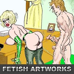 'Visit 'Fetish Artworks''