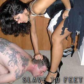 'Visit 'Slave To Feet''