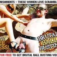 Join Brutal Ball Busting