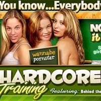 'Visit 'Hardcore Training''