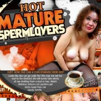 'Visit 'Hot Mature Sperm Lovers''