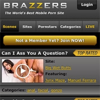 'Visit 'Brazzers Mobile''