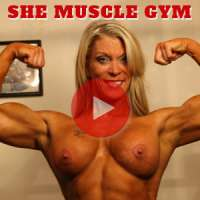 'Visit 'She Muscle Gym''