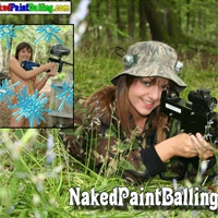 'Visit 'Naked Paintballing''