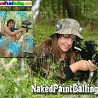 'Visit 'Naked Paintballing''