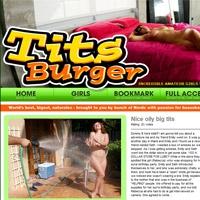 'Visit 'Tits Burger''