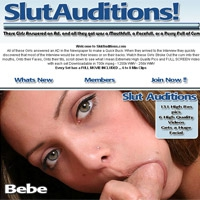 'Visit 'Slut Auditions''