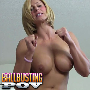 Join Ballbusting POV