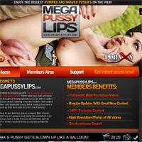 'Visit 'Mega Pussy Lips''