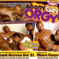 'Visit 'Ebony Gay Orgy''