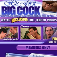 'Visit 'His First Big Cock''