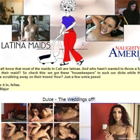'Visit 'Dirty Latina Maids''