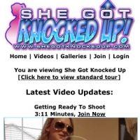 'Visit 'She Got Knocked Up Mobile''