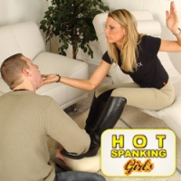 'Visit 'Hot Spanking Girls''