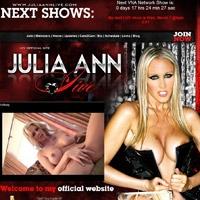 Join Julia Ann Live