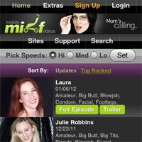 Mobile MILF Videos