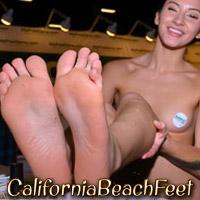 'Visit 'California Beach Feet''