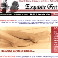 'Visit 'Exquisite Feet''
