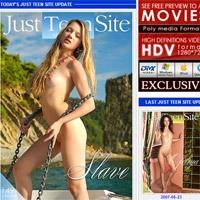 'Visit 'Just Teen Site''