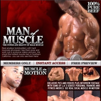 'Visit 'Man of Muscle''