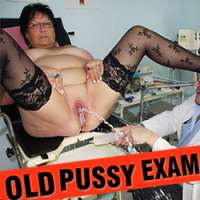 Join Old Pussy Exam