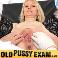 'Visit 'Old Pussy Exam''