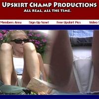 'Visit 'Upskirt Champ''