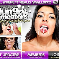 'Visit 'Hungry Cum Eaters''