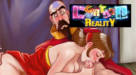Cartoon Reality sex spuiten sletten Porn