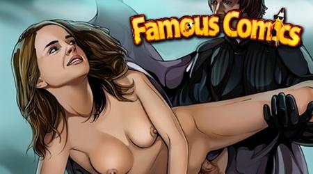 'Visit 'Famous Comics''