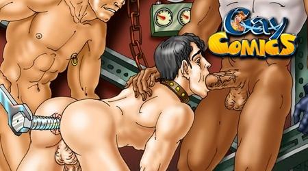'Visit 'Gay Comics''