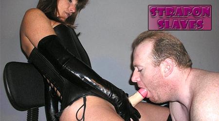 'Visit 'Strapon Slaves''