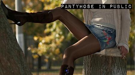 'Visit 'Pantyhose In Public''