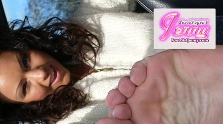'Visit 'Footgirl Jenny''